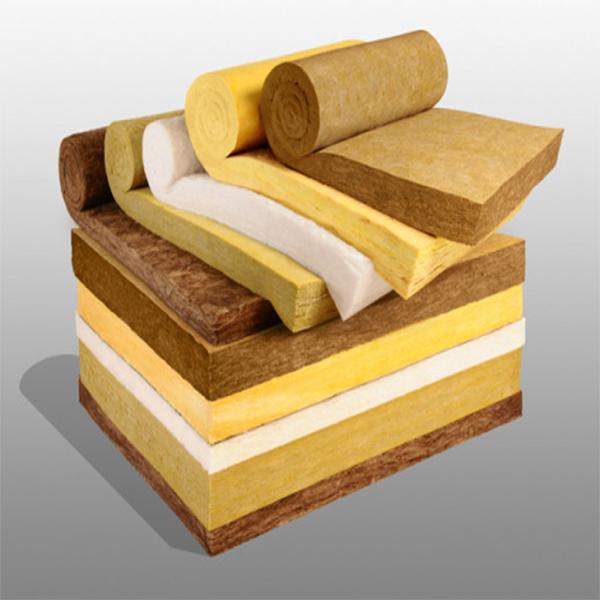 Placa de lana de roca imprimada